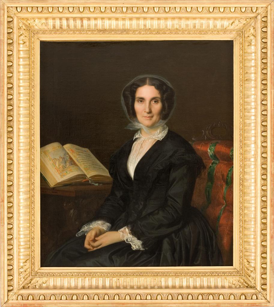 Madame Louise Marès par Alexandre Cabanel, 1851.