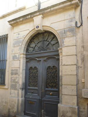 Lieu de résidence de la famille Marès à Montpellier