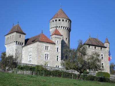 Lovagny chateau de montrottier photos gerard robert blanc 31